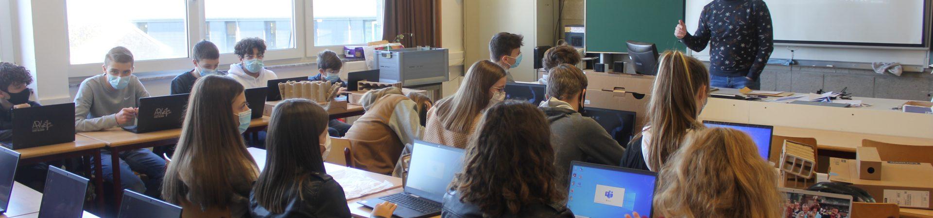 Projet BYOD – Le numérique à l'école.